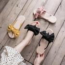 夾趾涼鞋女平底鞋仙女風ins潮2020新款時尚配裙子學生百搭沙灘鞋
