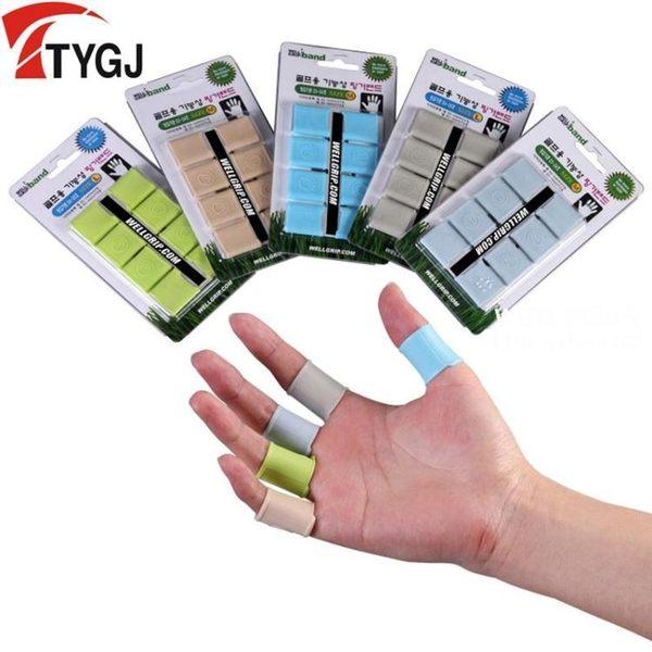 TYGJ高爾夫護指套 golf防護套 打球防護 防止滑桿 一盒價