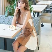 特惠連身裙 性感連身裙年夏高端氣質收腰顯瘦流行裙子仙女超仙森繫女