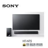 【出清特賣+24期0利率】SONY 2.1聲道單件式環繞家庭劇院 HT-NT5