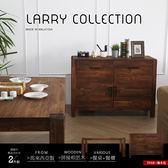 鄉村系列實木餐桌餐櫃組-2件式/LARRY(SGV/80232原木4尺餐櫃+80213原木5尺餐桌)【DD House】