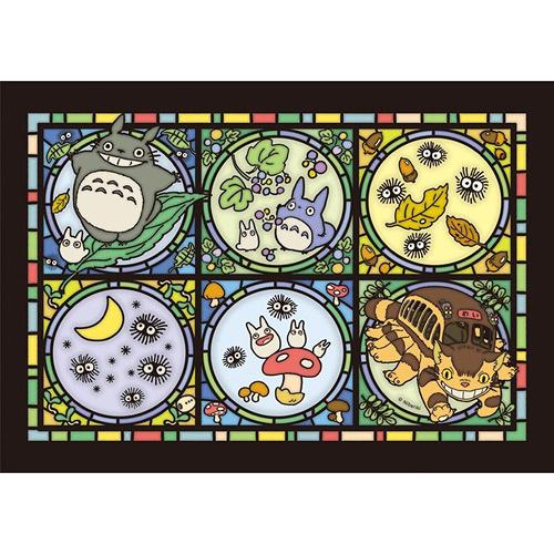 【日本進口拼圖】208-AC01 宮崎駿/吉卜力-龍貓的森林來信-透明拼圖 (208片)