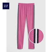 Gap女童 柔軟彈力針織雙面亮片內搭褲 486833-丁香紫