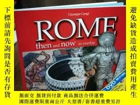 二手書博民逛書店ROME罕見:THEN AND NOW IN OVERLAYY1
