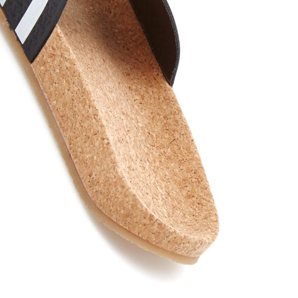 【GT】Adidas Originals W Adilette Cork 黑 女鞋 拖鞋 現貨 時尚 簡約 愛迪達 三葉草 軟木塞 BA7211