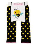 美國Izzy & Owie創意個性童裝 花漾彈性屁屁褲-黃色蜜蜂