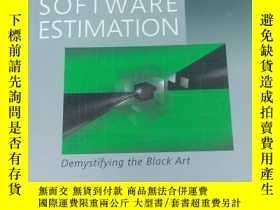 二手書博民逛書店SOFTWARE罕見ESTIMATION(軟件評估)Y17656