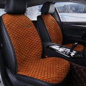 秋冬可愛時尚汽車座套女士毛絨坐墊座椅套 ☸mousika