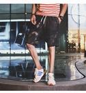 FINDSENSE H1 2018 夏季 新款 男 個性 迷彩 舒適透氣 直筒