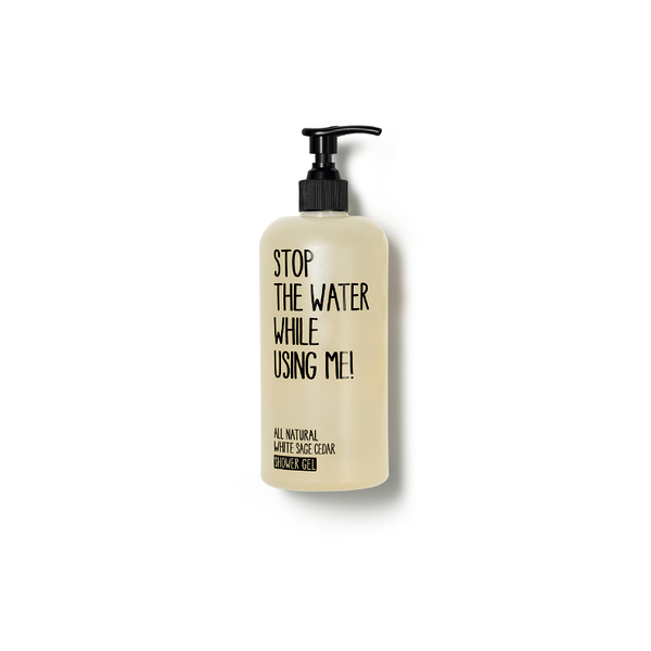 Stop the water while using me! 白鼠尾草雪松沐浴露500ml