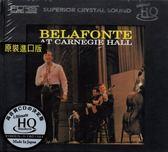 停看聽音響唱片】【U-HQCD】貝拉馮提卡内基現場BELAFONTE AT CARNEGIE HALL