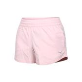 PUMA 女3吋短風褲(吸濕排汗 平織 三分褲 運動 慢跑 路跑  ≡排汗專家≡