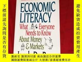 二手書博民逛書店Economic罕見Literacy What Everyone