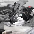 無刷鋰電電圓鋸充電式石材切割機4/5寸木工多功能7寸圓盤手提電鋸 1995生活雜貨