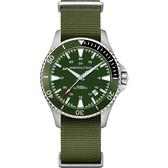 Hamilton 卡其海軍機械錶-綠帆布/40mm H82375961