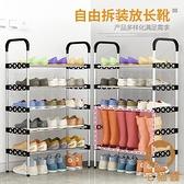 5層鞋架簡易家用室內收納四層防塵放鞋櫃子收納【宅貓醬】
