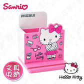 【Hello Kitty】三麗鷗凱蒂貓桌上直式筆筒 手機架 文具收納(正版授權)