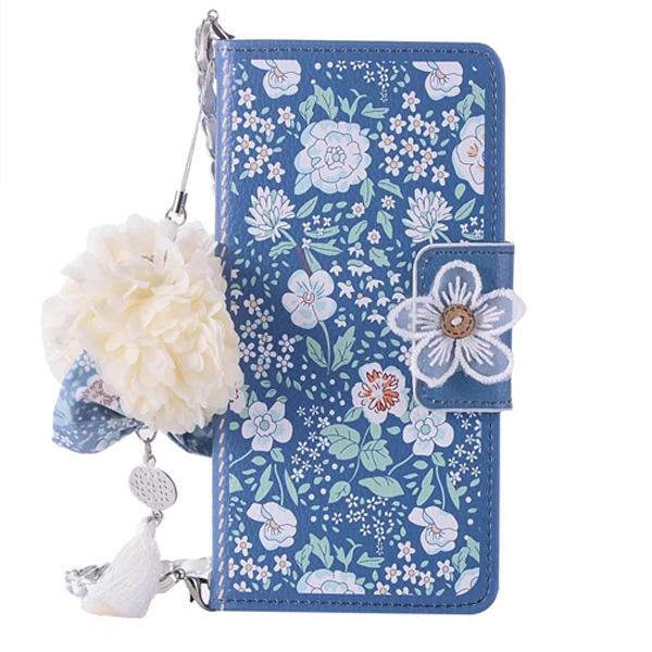 三星 Note9 Note8 Note5 茉莉花皮套 皮套 手機皮套 皮套 掛繩 吊飾 手機殼 保護套