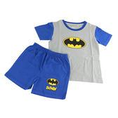 蝙蝠俠 防蚊純棉短袖套裝(S~XL)【愛買】