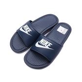 NIKE Benassi JDI 運動拖鞋 藍白 -343880-403 男鞋