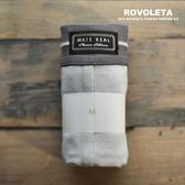 四角貼身褲|淺灰縫線|30%灰【MR-02】(ROVOLETA)