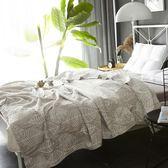 夏天三層紗布水洗空調毯毛巾被純棉薄款被子