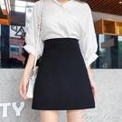 短裙女春夏季2020新款一步包臀a字裙黑色高腰職業工裝半身裙韓版 范思蓮恩