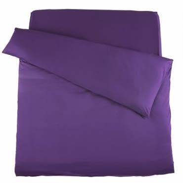 托斯卡被套單人 木槿紫色