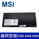 MSI BTY-S31 4芯 . 電池 X320 X340 X350 X360 X400 X410 X420 X430 X440 X620 BTY-S32 MS-1361 MS-1462 MS-1351