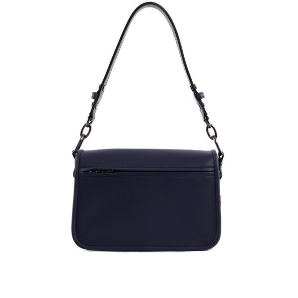 【LONGCHAMP】Mlle LONGCHAMP系列二用荷篷包 (MINI)(深藍) 2038883006