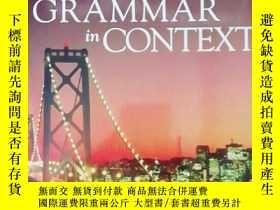 二手書博民逛書店CRAMMAR罕見IN CONTEXT 9781424080915Y15548 ISBN:97814240