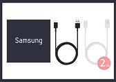 SAMSUNG 三星 原廠Type-C充電傳輸線_S10內附款 (2入組)