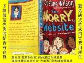 二手書博民逛書店jacqueline罕見wilson the worry website: 傑 奎琳· 威爾遜擔憂網站..Y2