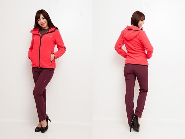 【戶外趣】 X-WARM保暖系列女刷毛連帽外套-電電購