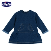 chicco To Be BG 針織牛仔洋裝