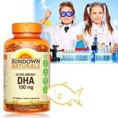 (即期品)《Sundown日落恩賜》兒童精明鮪魚油DHA軟膠囊(100粒/瓶)