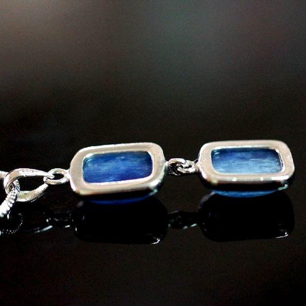 【喨喨飾品】藍晶石 純銀墜飾 vs 鍊M326