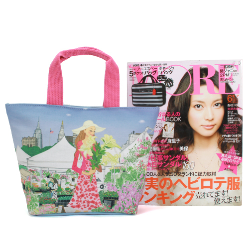 Reiko Aoki青木禮子 LILY彩繪托特包730022-100