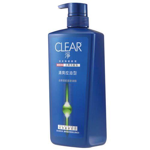 CLEAR淨 男性清爽控油洗髮乳750ml【康是美】