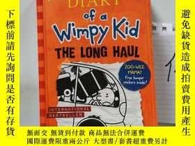 二手書博民逛書店Diary罕見of a wimpy kid the long haulY15335