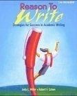 二手書博民逛書店 《Reason To Write Low Intermediate》 R2Y ISBN:0194367711│Miles