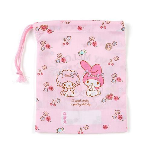 SANRIO 日製棉質縮口杯袋 美樂蒂 芭蕾_581909