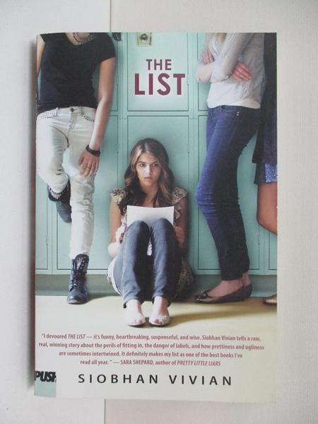 【書寶二手書T1/原文小說_BO8】The List_Vivian, Siobhan