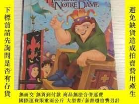 二手書博民逛書店THE罕見HUNCHBACK OF NOTRE DAME 巴黎聖
