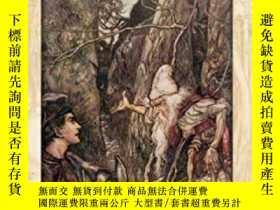 二手書博民逛書店亞瑟拉克姆童話黃金時代插畫Rackham s罕見Fairy Tale IllustrationsY238343
