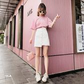 夏季顯瘦上衣短裙兩件套裝女神短裝#1