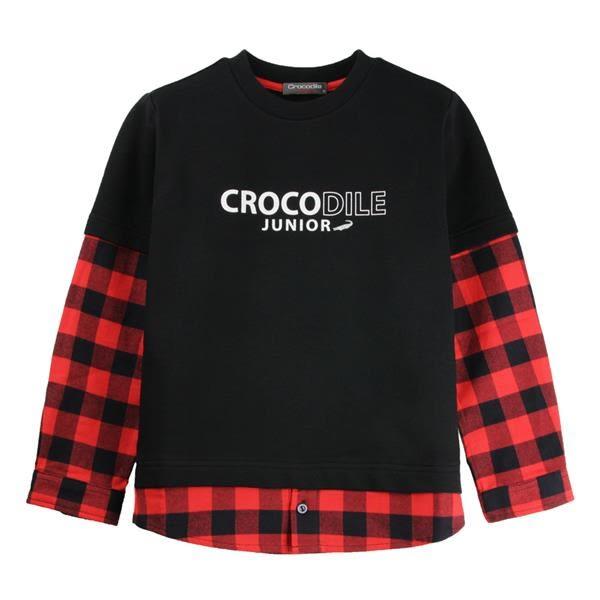 『小鱷魚童裝』假2件式襯衫(02號~06號)532105