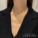 《Caroline》韓國時尚風格項鍊網紅...