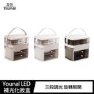 【愛瘋潮】 Younal LED 補光化妝盒 三段調光