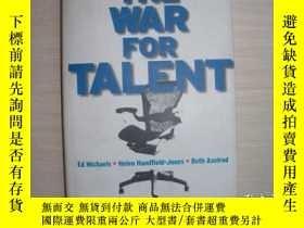 二手書博民逛書店THE罕見WAR FOR TALENT 精裝! 552Y289578 Ed Michaels Harvard